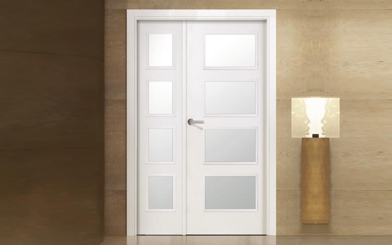 Puertas de paso baratas awesome puertas correderas en - Puertas interior baratas barcelona ...